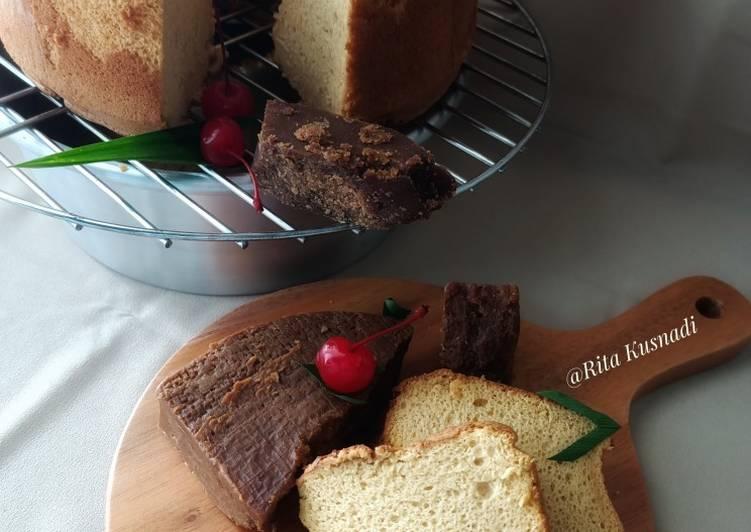 Chiffon Cake Gula Merah