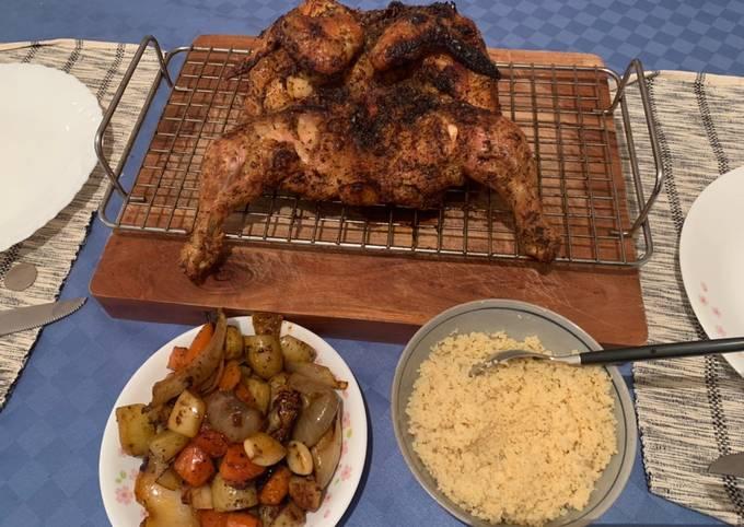 Quick Crispy Whole Chicken(under 1 hr)