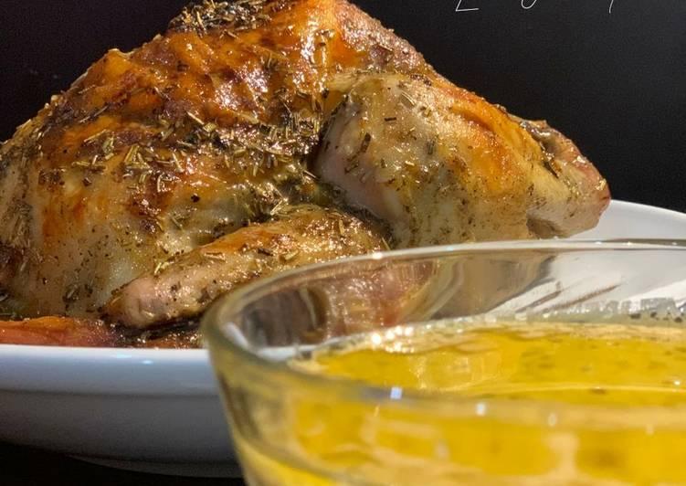 Lemon Butter Roast Chicken