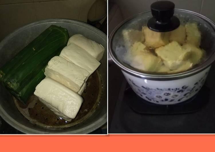 Resep Kukus Tahu Tempe Agar Awet Dalam Seminggu Dikulkas Oleh Ra Laksitoresmi Indriati Cookpad