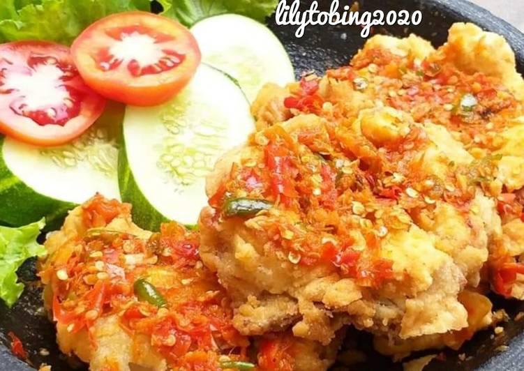 Resep Ayam geprek yang Bisa Manjain Lidah