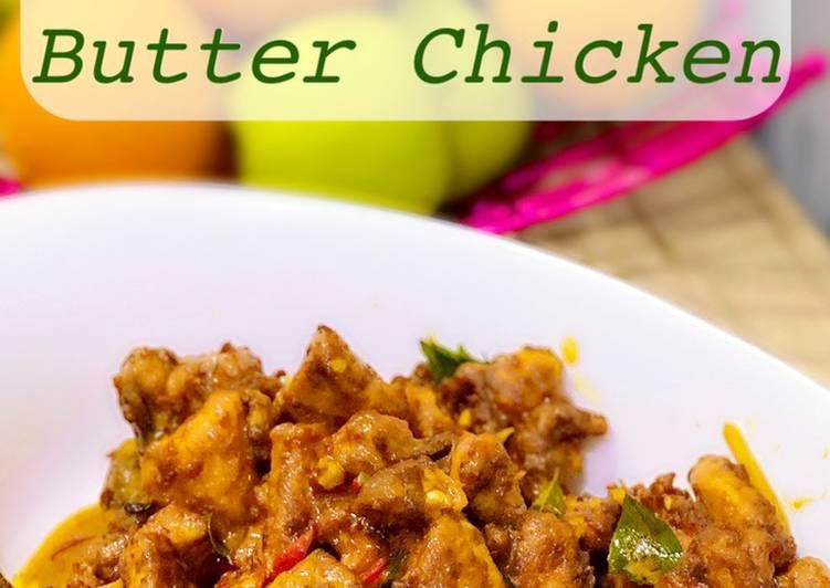 Salted Egg Butter Chicken  (Ayam Goreng Mentega Telur Masin) - velavinkabakery.com