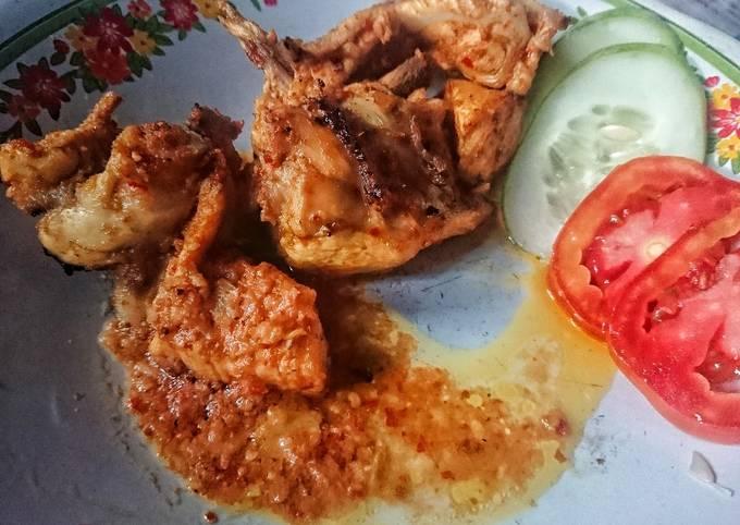 Ayam panggang bumbu balado