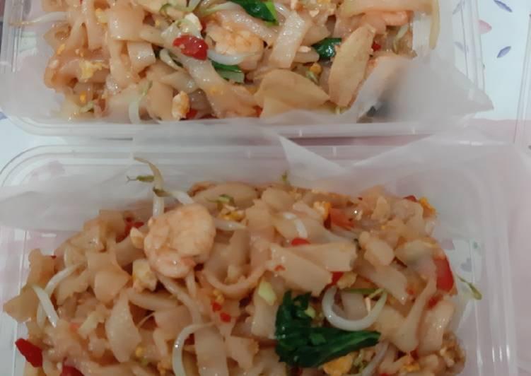 Kwetiaw goreng seafood