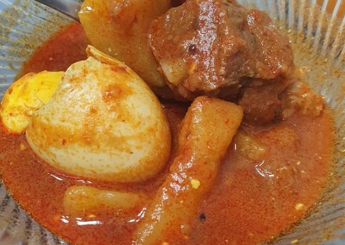 Recipe of Award-winning Mutton Curry