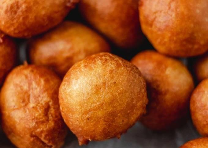 Puff puff snack mini Balls