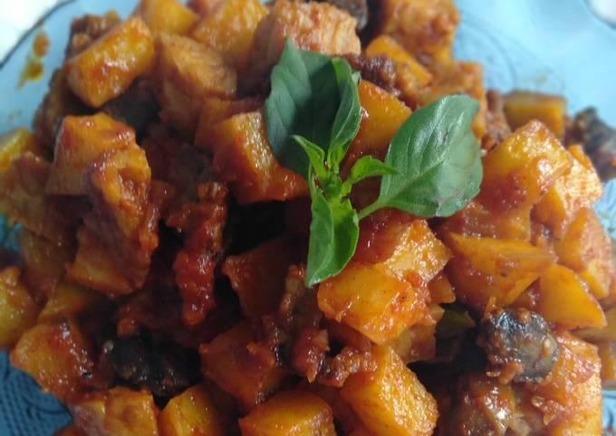 sambal goreng kentang tempe ati ampela - resepenakbgt.com