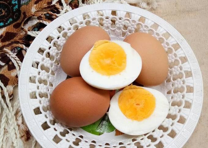 Resep Telur Rebus Hemat Gas Oleh Riska Dwi A Cookpad
