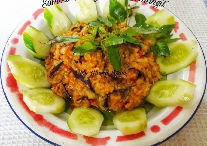 sambal terong tempe semangit - resepenakbgt.com