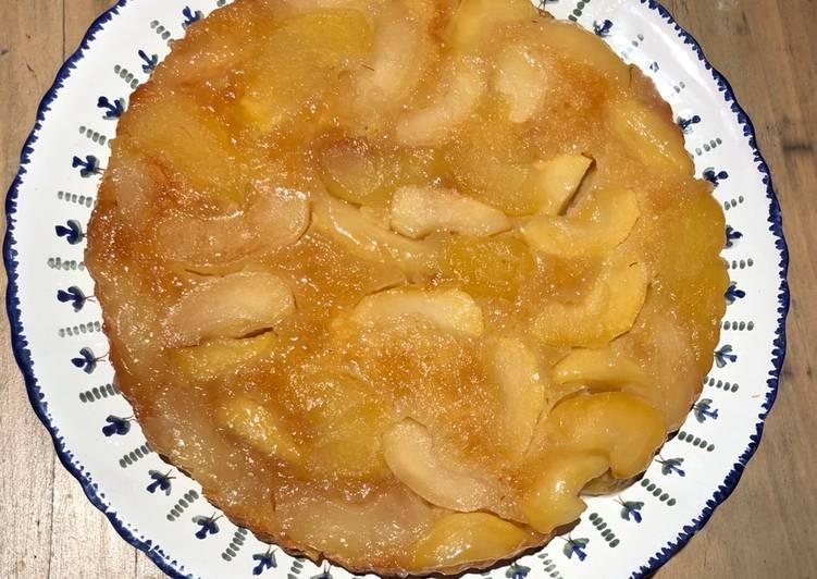 """Comment Servir Gâteau aux pommes """"Tatin"""""""