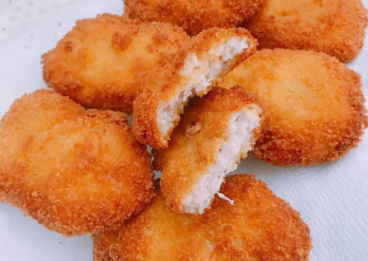 Super crispy chicken nuggets