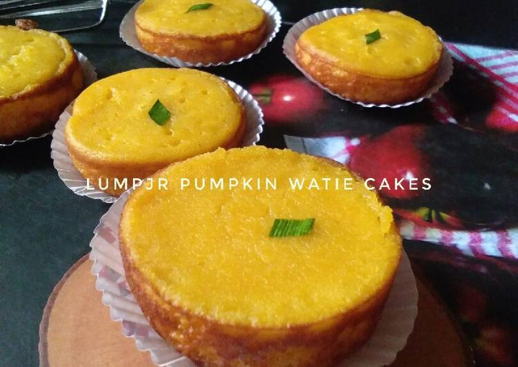 Lumpur pumpkin lembut,harum dan legit