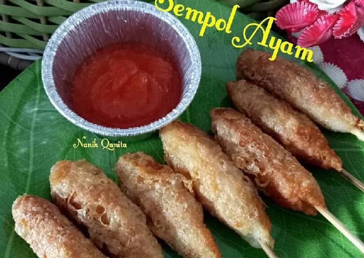 Resep Sempolan Ayam Oleh Bunda Qanita Cookpad