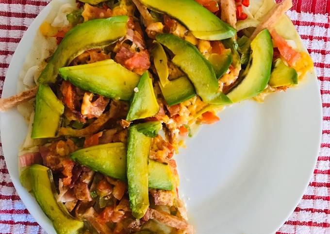 Healthy pizza 🍕