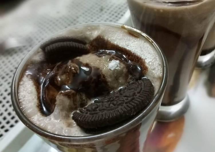Choco Oreo shake