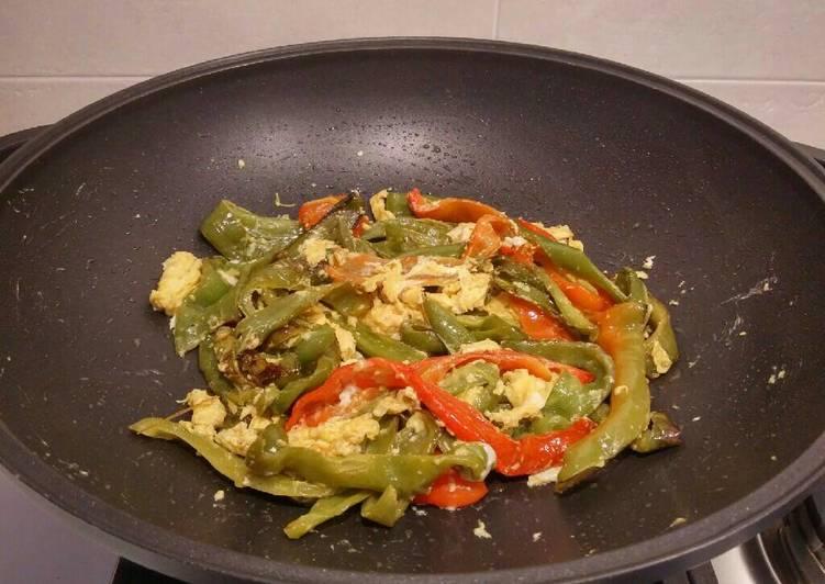 Ricetta Peperoni cornetti all'abruzzese