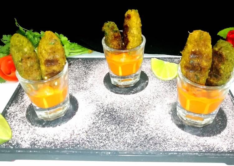 The Best Dinner Ideas Autumn Chicken-Spinach Kofta with tomato chutney