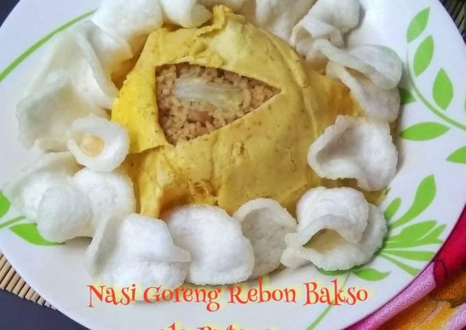 Nasi Goreng Rebon Bakso ala Pattaya