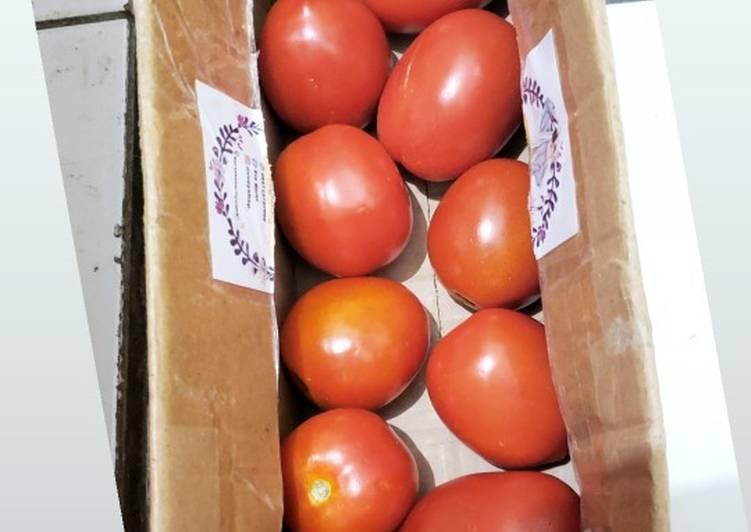 Tips menyimpan tomat 🍅