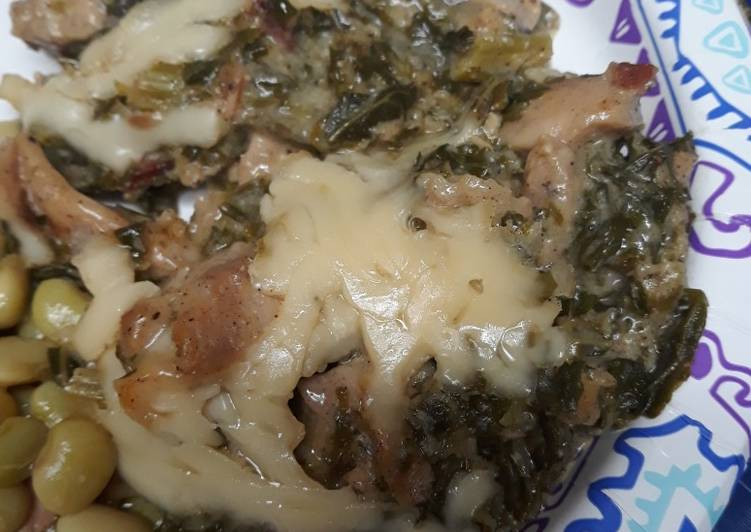 Creamy Kale and Chicken