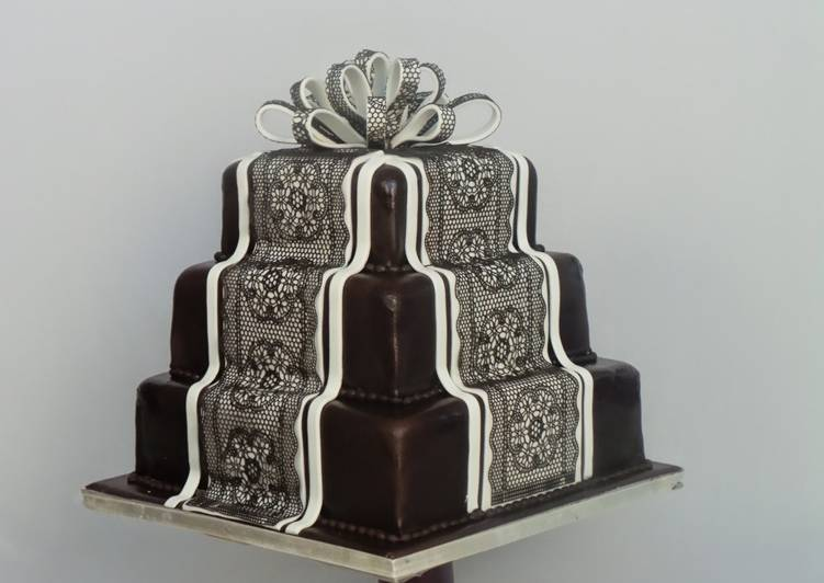 Easiest Way to Prepare Most Popular Lace Works icing