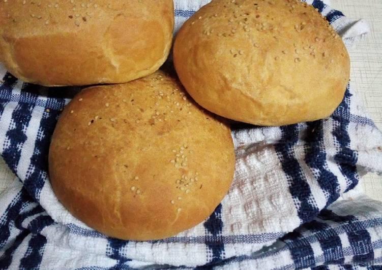 Steps to Prepare Any-night-of-the-week Homemade hamburger buns