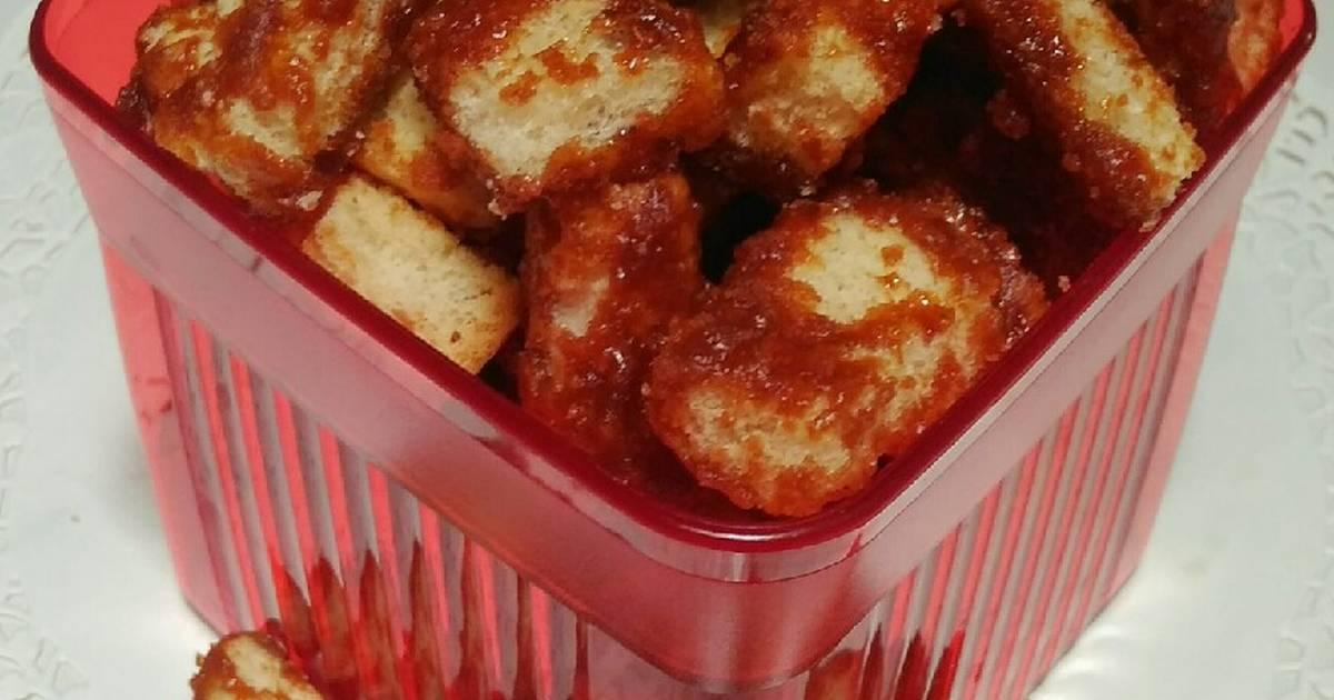 3 Resep Sweet Rusk Biskuit Kering Simple Dengan Roti Tawar Enak Dan Sederhana Ala Rumahan Cookpad
