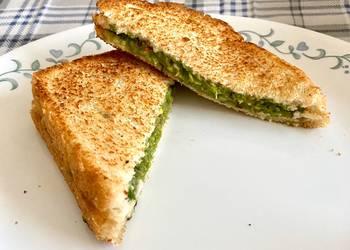 Easiest Way to Make Appetizing Avacado Sandwich