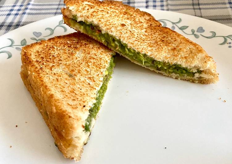 Recipe of Perfect Avacado Sandwich