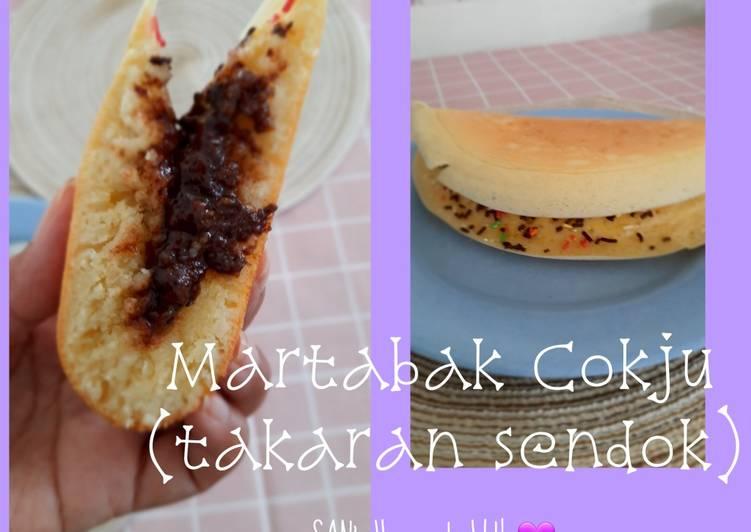 Martabak Cokju Panggang Teflon (Simple banget, takaran sendok)