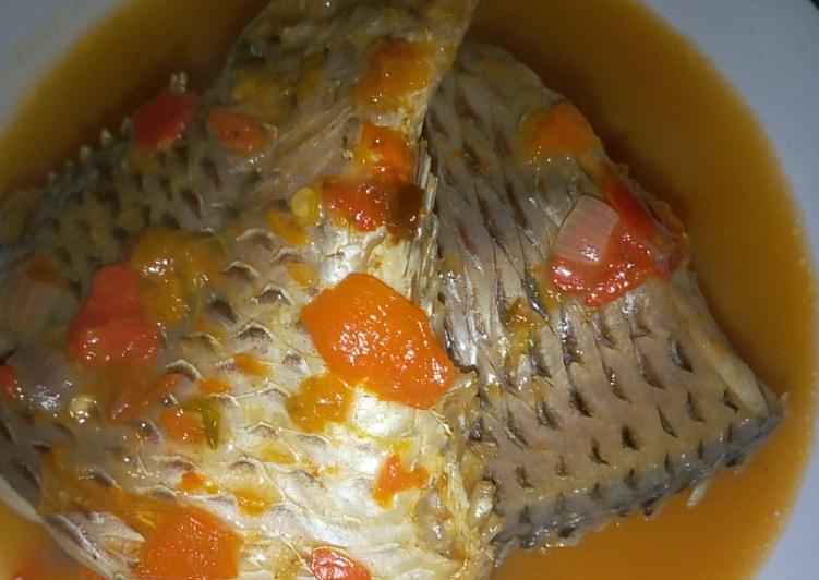 Steps to Make Super Quick Homemade Light fish soup