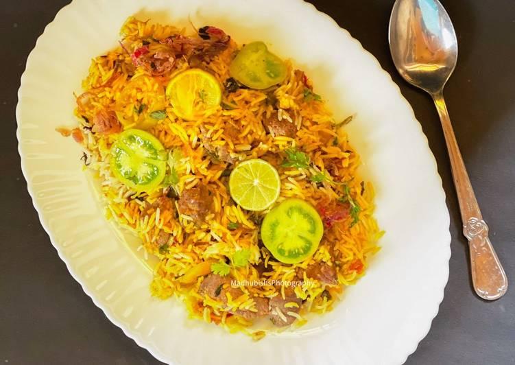 What is Dinner Easy Vegan Mutton Kaleji Biryani