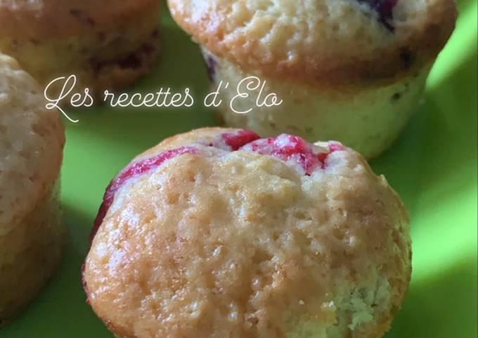 Muffin framboise / mûre au cake Factory