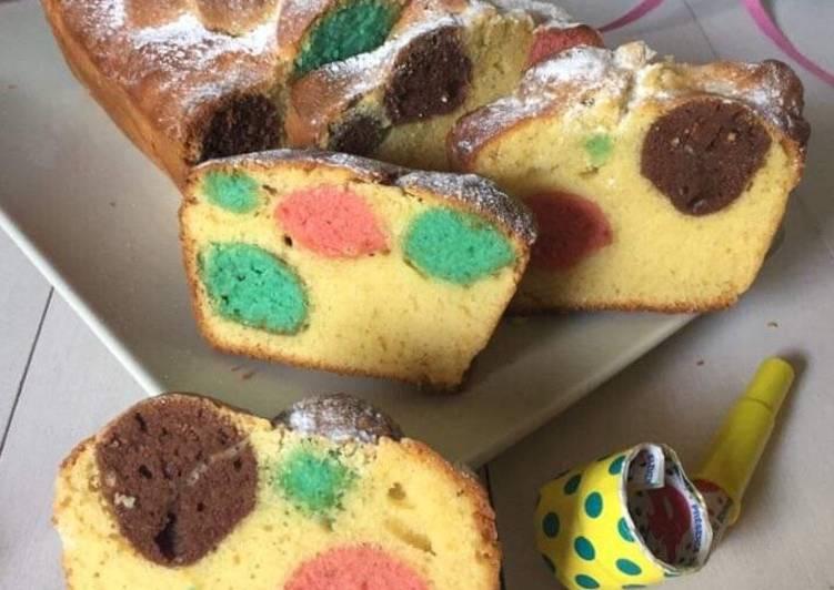 Ricetta Plum-cake a pois