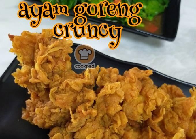 Ayam goreng crunchy