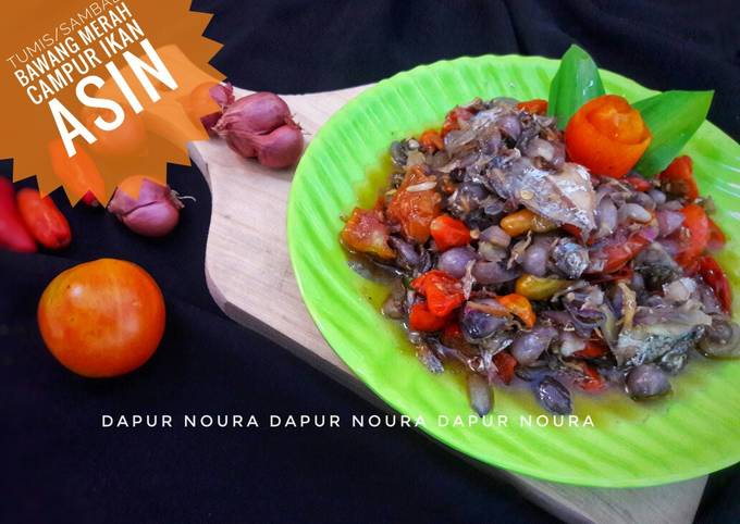 Resep Tumisan/sambal bawang merah, Lezat