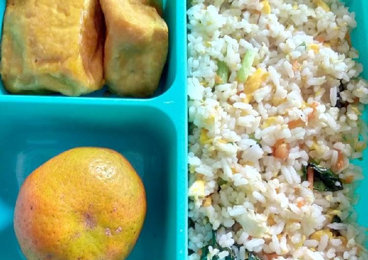 Resep Nasi goreng bekal anak Paling dicari