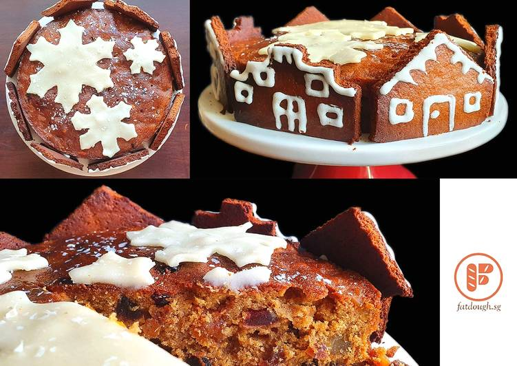 Steps to Prepare Homemade Xmas Fruit Cake