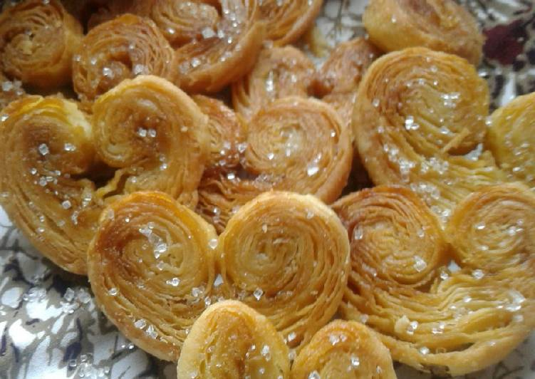 Resep Palmier Cookies a.ka Genji Pie Bikin Jadi Laper