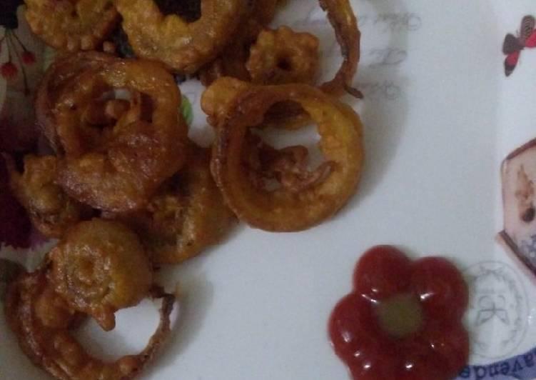 How to Prepare Speedy Onion rings