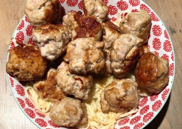 Boulettes de porc caramélisées (Bun Cha)