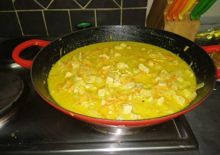 Caitlin Chicken Coconut Curry
