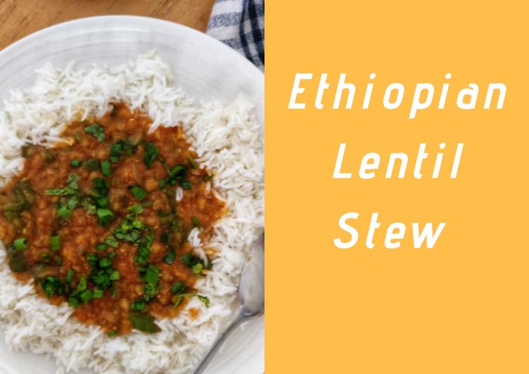 Recipe of Quick Ethiopian lentil stew