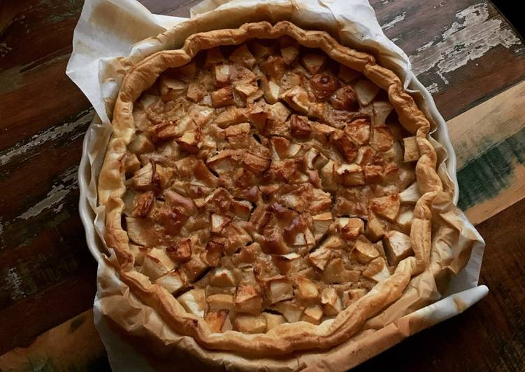 ☆Tarte aux Pommes et Beurre de Cacahuètes☆