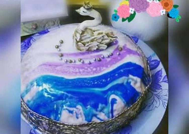 Recipe: Yummy White chocolate mousse cake????