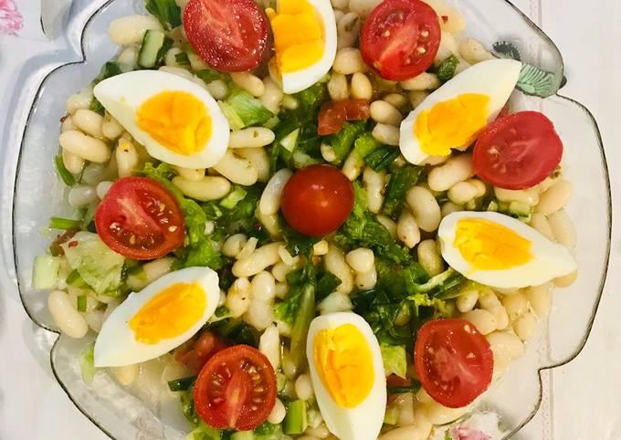 Piyaz (White Bean Salad)