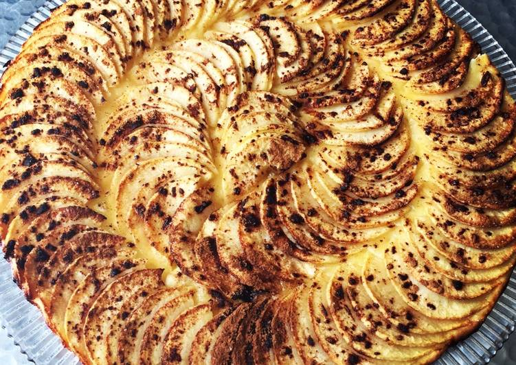 recette Tarte fine aux pommes Le plus simple