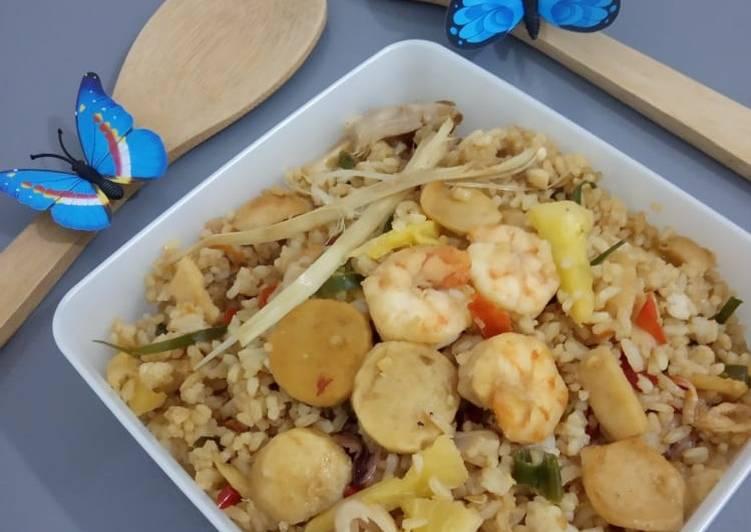 Nasi Goreng Tom Yam Seafood