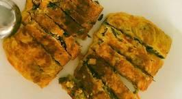 Hình ảnh món Trứng cuộn phô mai và nấm(ăn chay)
