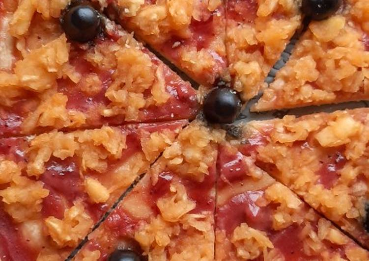 Comment faire Cuire Savoureux Pizza sucrée trompe l'oeil